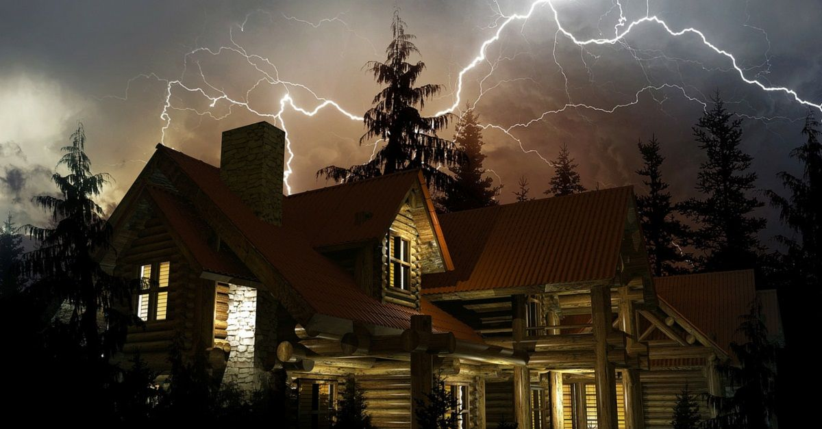 metal roofing and lighting