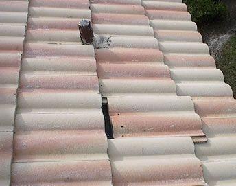 Repair roof tile