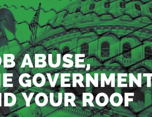 AOB Abuse, The Government, And Your Roof