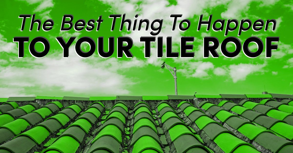 The Best Thing To Happen To Your Tile Roof