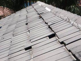 Tiles slipping