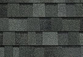 Gray and black Duration shingles